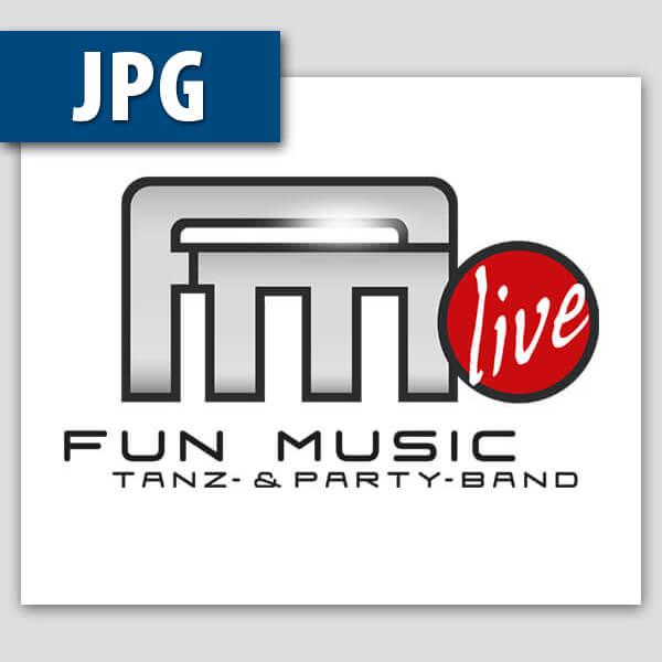 Fun Music Logo als Jpg