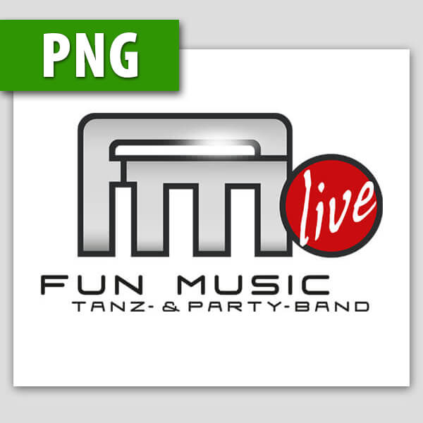 Fun Music Logo als Png
