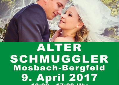 Plakat Hochzeitsmesse 2016